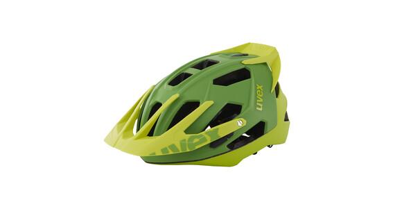 UVEX quatro pro Helm green/lemon mat